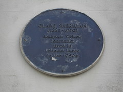 Photo of Clare Sheridan blue plaque