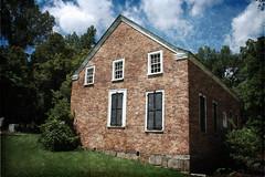 Old Brick Church Texture