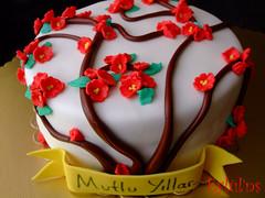 Nar çiçekleri pastası...