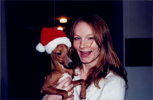 Puppy in a Santa Hat! - 2003