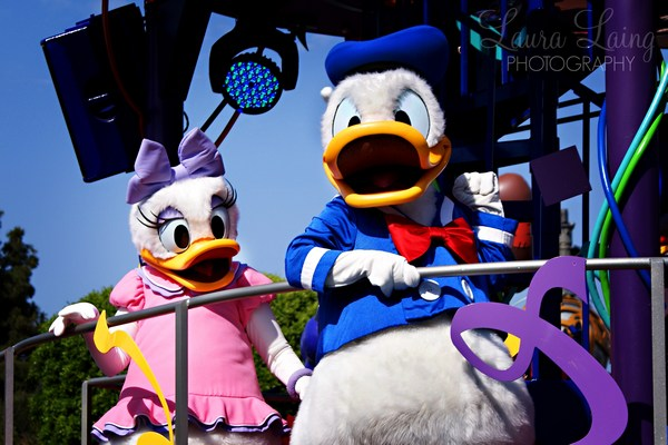 Celebrate: A Street Party Donald & Daisy