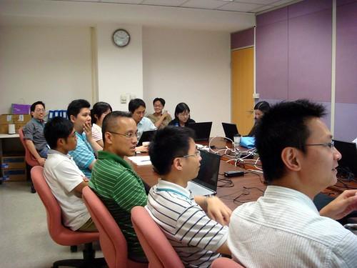 工研院資訊中心的顧問輔導
