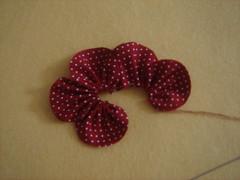 PAP - Fuxico flor pétala aberta 6 (Minhas Crias) Tags: flores artesanato fuxico pap tecido retalho trabalhosmanuais passoapasso floraberta