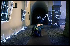 light painting thinking (andreas gessl) Tags: light lightpainting salzburg night painting austria crazy long exposure drawing creative andreas cinematic lichtmalerei lightart lightdrawing lichtmalen gessl lightjunkie andreasgessl