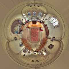 Saint Ly la Fret Church Small Planet (Vincent Montibus) Tags: panorama pentax pano panoramic 45 fisheye hdr panoramique hugin loiret equirectangular 1017mm k20d equirectangulaire frpix nn3mk2 ninjanodal3mark2 saintlylafret