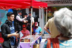 Police, Brick Lane