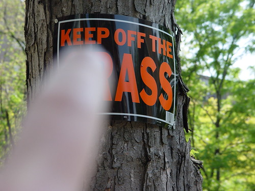 Keep Off the Ass
