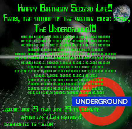 The Underground Celebrates SL's 6th Bday!!