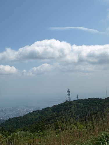 View from the summit of Mt.Rokko