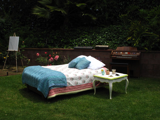 The outdoor bedroom!