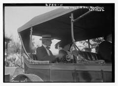 Vice Pres't & Mrs. Marshall - Gettysburg  (LOC) (The Library of Congress) Tags: marshall gettysburg libraryofcongress vicepresident victorianera xmlns:dc=httppurlorgdcelements11 thomasrileymarshall greatmustachesoftheloc dc:identifier=httphdllocgovlocpnpggbain13505 gettysburgreunion1913 july31913