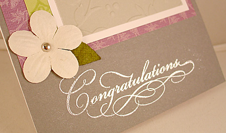 Gracious Greetings Close-up