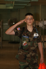 Signing In (pawg) Tags: salute cap civilairpatrol cadet encampment pawg