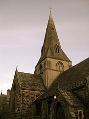 Cochran Church at dusk (Equinox27) Tags: old church memorial pennsylvania victorian weathered slate methodist dawson philip cochran