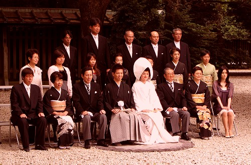 明治神宮婚禮3
