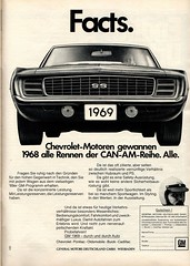 gm (1969) (sonjasfotos) Tags: chevrolet vintage advertising buick gm cadillac oldtimer pontiac werbung reklame oldsmobile generalmotors caradvertising