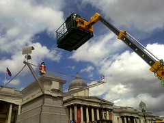First Day on The Fourth Plinth
