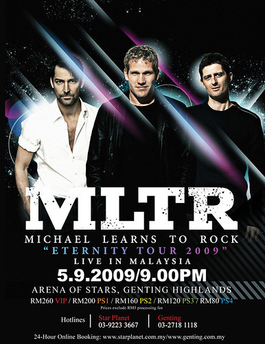 """Michael Learns To Rock """"Eternity Tour 2009"""