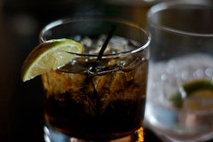 My rum and coke