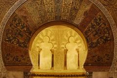 mezquita de córdoba (pilar56) Tags: españa spain arquitectura arte arabe cordoba mezquita delicate arco filigrana
