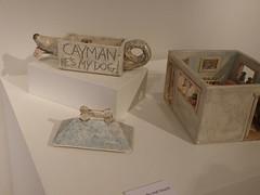 AMOCA David Furman The Artist is in the DETAIL (Ant Ware) Tags: sculpture art ceramic ceramics handmade clay pottery handbuild antware amoca davidfurman trompeoleil