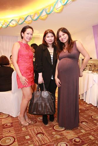Trish, Mel, Fiona