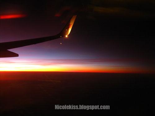 dawn on flight