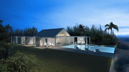 dellis cay villa house by shigeru ban