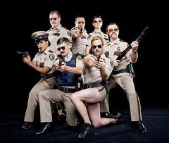 """Reno 911!"" - 4/1/09 (knoopie) Tags: tv april 2009 reno911 comedycentral cedricyarbrough tomlennon kerrikenneysilver tvpicks"