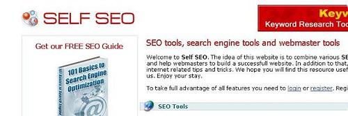 测试网站的打开速度:webwait,webslug,selfseo