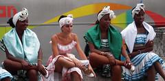 Ready for the Show (Bellwizard) Tags: dancers legs folk havana cuba prado piernas lahabana bailarinas cubanas cames ballarines cubanwomen larumbadelprado