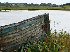 Abandoned (kafphotography) Tags: old ireland abandoned bay boat cogalway connemara shore thechallengegame challengegamewinner yourock1st herowinner