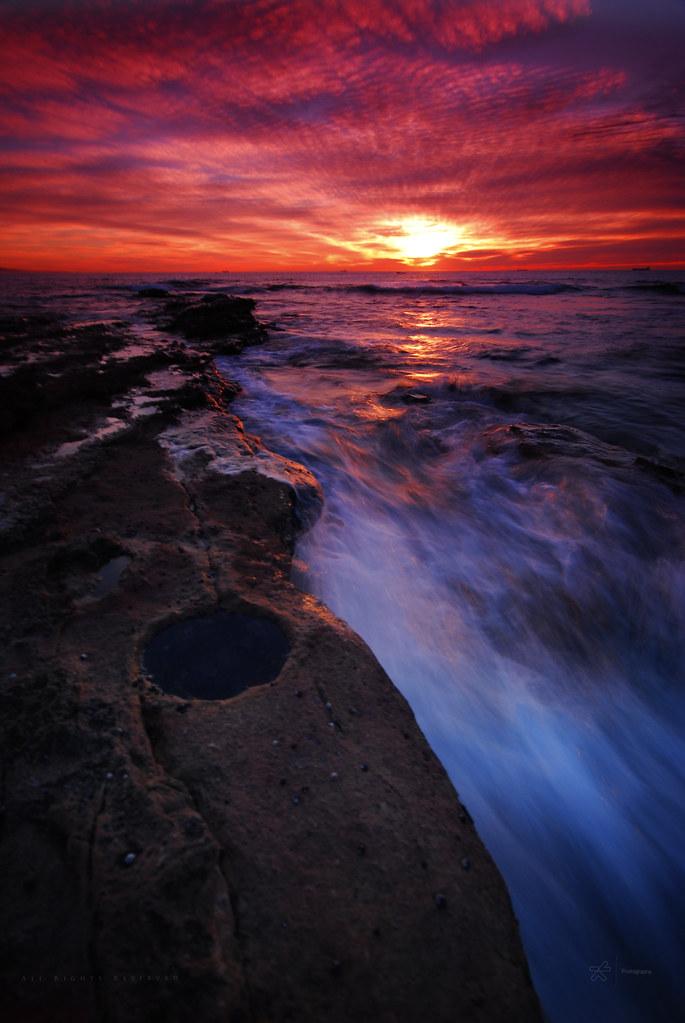 1-3 second sunrise rush