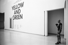 Yellow and Green (Istvan Penzes) Tags: bw white black