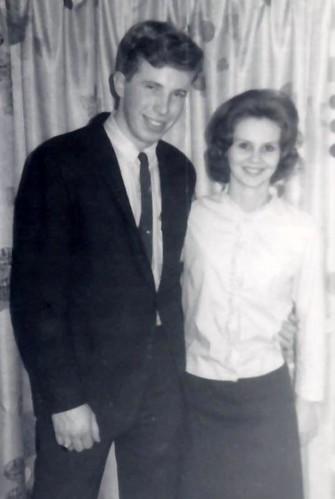 Country Cousin Wayne Reid and his Girlfriend Pat circa 1963