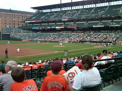 First game at Camden Yards