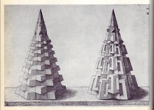 Perspectiva Corporum Regularium -  Wenzel Jamnitzer 1568 e