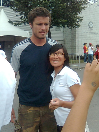 Marat Safin and me at Montreal Rogers Cup 2009