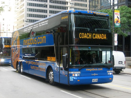 Megabus Bus Interior - Bus From Orlando To Fort Lauderdale