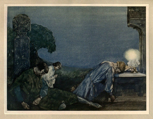 003- -Le morte Darthur 1921- William Russell Flint