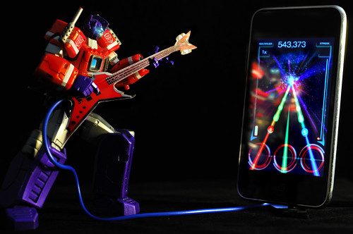 Robot Guitar Hero