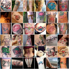 Meus Favoritos - Tattoos Maravilhosas - My favorites - Wonderful Tattoos (Arte Shi Chic) Tags: fdsflickrtoys