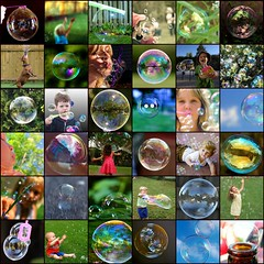Bubble mix (robynejay) Tags: fdsflickrtoys mosaic bubble mosaicmaker