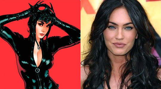 Rumor de que Megan Fox sea Gatúbela