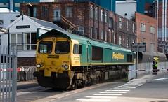 Coal Drag to Crossfield (kitmasterbloke) Tags: moderninmage railways locomotives diesel electric trains 66611 freightliner warrington