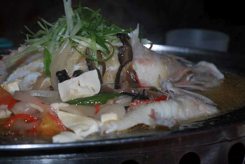Teochew Steam Fish by you.