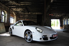 Photoshoot Porsche 997 Turbo (arjendebok) Tags: white germany nikon photoshoot belgie turbo porsche inside 997 d60