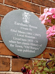 Photo of Ethel Mann grey plaque