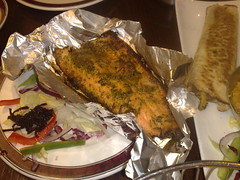Coriander Lime Trout at Mother India's Cafe, Edinburgh