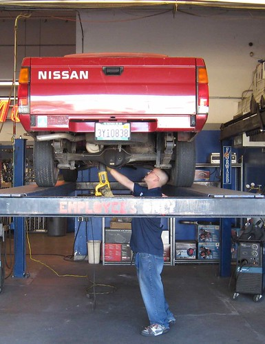 Nissan gets a new muffler